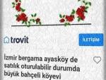 İzmir bergam çamtepe(mahmudiye) satılık asfalta 0 evi artezyenli tarla
