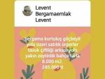 İzmir bergama kozak yolu üzeri satılık bakımlı bahçeli iki haneli ev