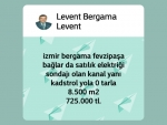 İzmir bergama zeytindağ çaçanköy satılık yeni otaobana cepheli