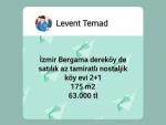 İzmir Bergama tiyelti satılık orman ve hazine yanı her iki kadstrol