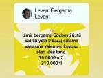 İzmir bergama zafer Bahçelievler satılık ılıca ve üniversite çivarı