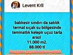İzmir bergama kozak satılık köy asfaltına 0 içerisinde konteynırı olan